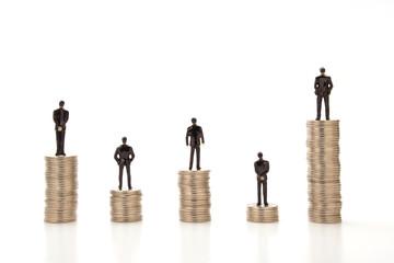 収入格差イメージ