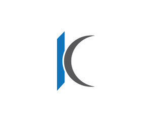 K Letter Logo Business professional logo template