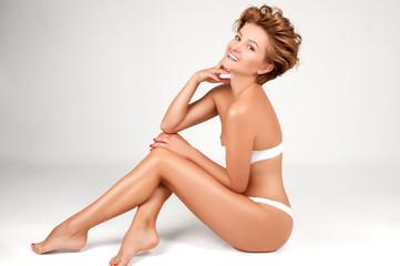 Body Care. Beautiful Woman. Spa therapy