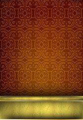 Arabic pattern pattern background