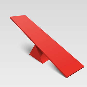 seesaw isolated object