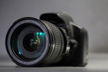 Digital camera with lens