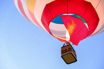 Acrylic Prints Sky sports hot air balloon