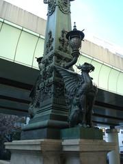 日本橋の麒麟像
