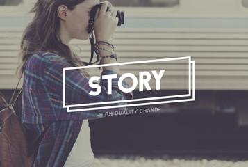 Traveler Travel Trip Journey Story Concept