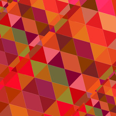 Triangle Random Geometric Background Colorful. Vector