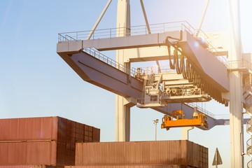 container port crane