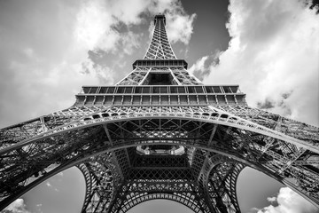 The Eiffel tower, Paris France