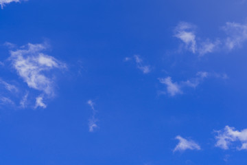 blank sky and any clound