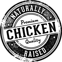 Naturally Raised Chicken Sign