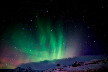 Northern Lights from Southern Iceland