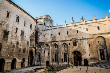 Visite du Palais des Papes d'Avignon