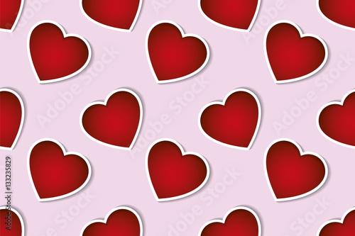 Valentines day seamless pattern background. Valentines day ...