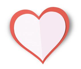 Paper Valentine Love Heart