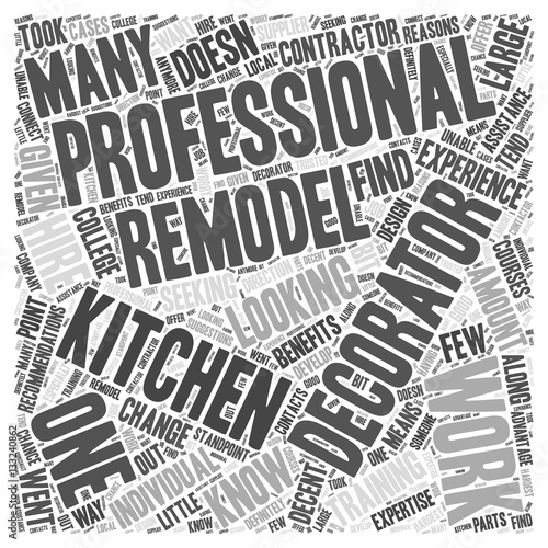Remodeling Your Kitchen Should You Hire A Decorator Word
