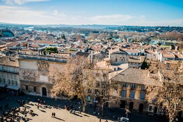 Panorama d'Avignon depuis le donjon de la Cité des Papes
