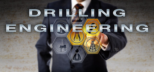 Manager Touching DRILLING ENGINEERING Onscreen