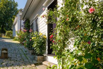 Old houses at Stavanger, Norway