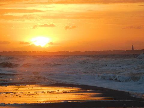 Sunrise at Oak Island