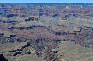 Arizona, USA - july 7 2016 : picturesque canyon in summer