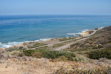 Küste von Kalifornien mit blick auf den Pazifischen Ocean