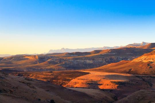 Golden Gate Highlands National Park panorama, South Africa