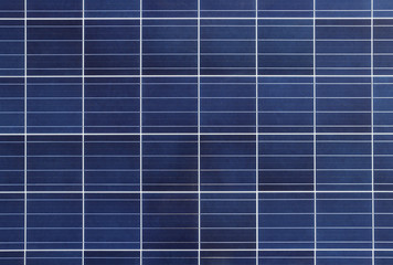Solar Cell Panel Background and Texture