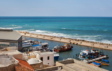 Old port of Yaffa.