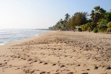 Beachfront in Uppuveli, Sri Lanka