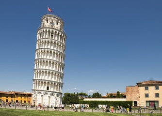 Leaning Tower of Pisa. The Tower of Pisa is the campanile, or freestanding bell tower, of the cathedral of the Italian city of Pisa.