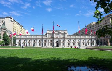 Santiago de Chile - Präsidentenpalast - II -