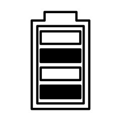 battery symbol isolated icon vector illustration design