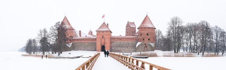Famous Trakai Island Castle, Lithuania