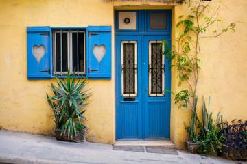 Traditional Maltese street scene, Malta, Europe