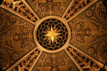 Basilica ceiling
