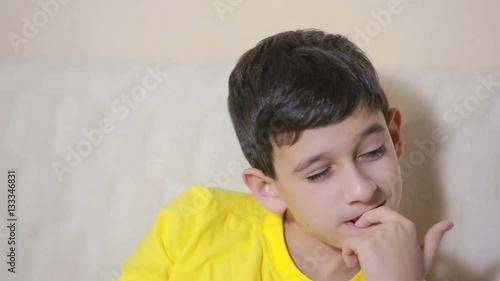 """Boy biting his nails obsessive-compulsive disorder, child ..."