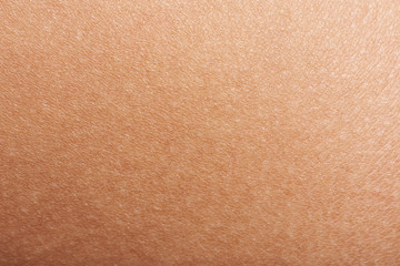 Skin of woman hand