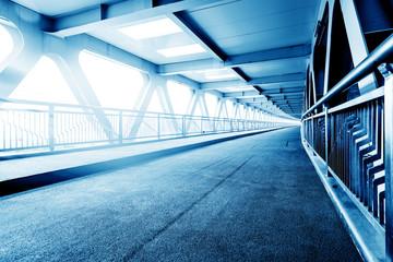 Modern bridge blue hue map