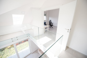 Modern interior of new house