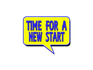 Time for a new start