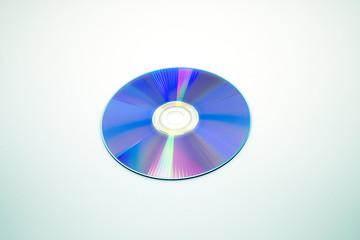 DVD-Rの盤面