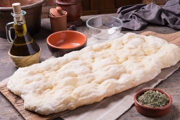 undercook focaccia bread