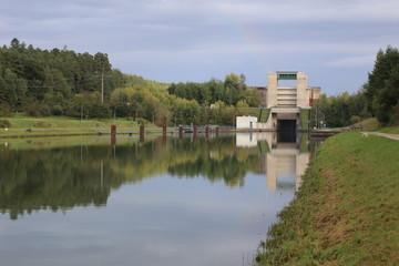 Eckersmuehlen lock on the Rhine–Main–Danube Canal