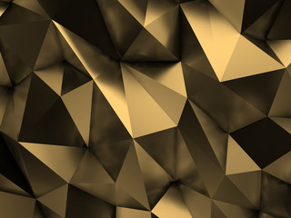 Brown Abstract Background 3D Rendering