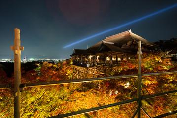 temple light autumn kyoto