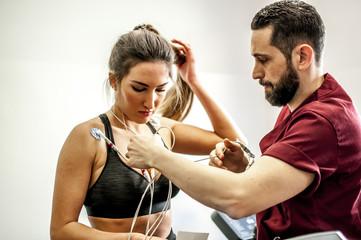 monitoraggio elettrocardiogramma sotto sforzo