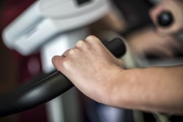 manubrio cyclette per esercizi di sport e riabilitazione