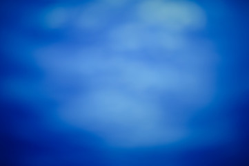 Light blue abstract blurry background bokeh