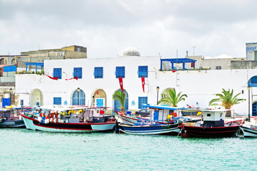 Poster de jardin Tunisie Resort town Bizerte in Tunisia, Africa