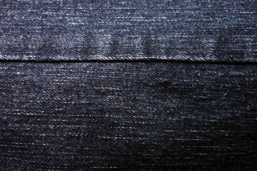 Navy blue jeans texture